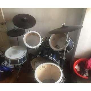 Dixon爵士鼓,全套,二手品出清