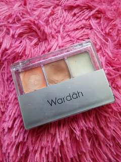 wardah concealer & base eyeshadow