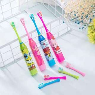 Character electric toothbrush