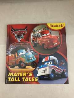 BN Disney Cars book - Mater's Tall Tale