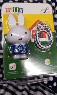 2018 7-11 小花Miffy 3D 卡通人物八達通配飾