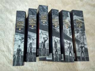 The Mortal Instruments Cassandra Clare complete book 1-6