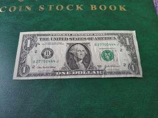 2003年1元美金