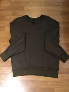 Oversized Sweater (Armygreen) medium