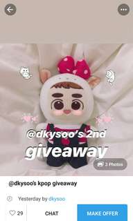@dkysoo's giveaway 😊