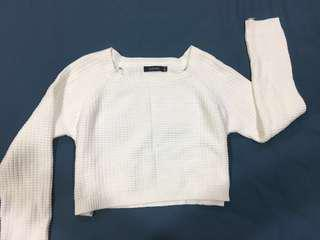 GLASSONS White cropped sweater