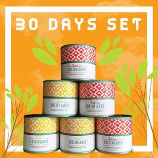 Luslimlabeb Teh Herba Set 30 Hari