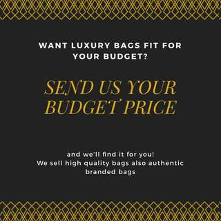Budget friendly luxury bags