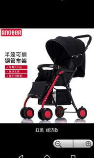 In stock /Baby Stroller/baby pram /can recline and sit