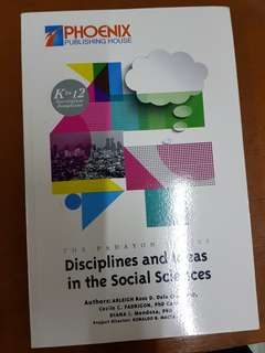 Senior High Discipline and Areas in Social Science