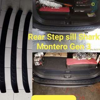 Rear Step sill Shark Montero Gen 3