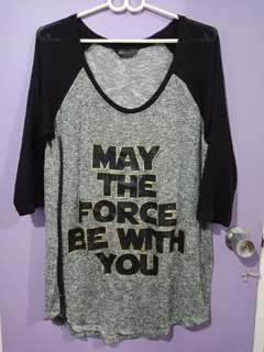 Star Wars plus size top