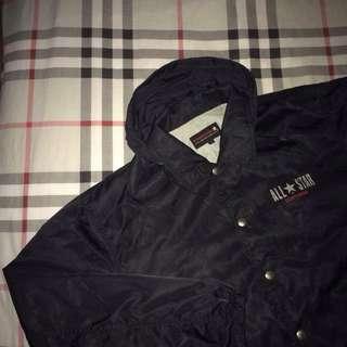 converse hoodie coach jacket