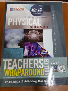 Senior High Physical Science Teacher's Wrap Around
