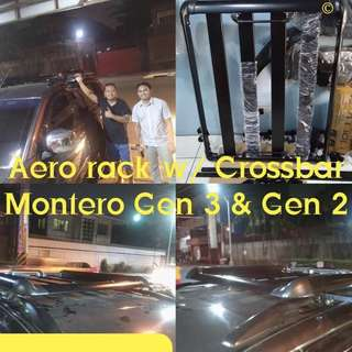 Aero Rack with Crossbar Montero Gen 3 & Gen 2