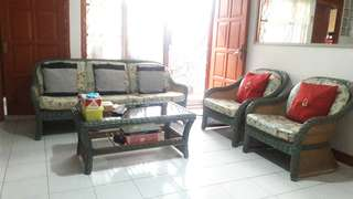 sofa ligna rotan