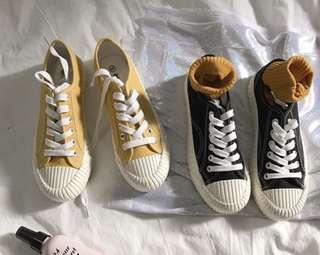 🚚 餅乾鞋 百搭鞋 學院風帆布鞋