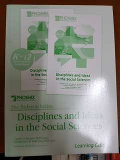 Senior High Discipline and Ideas in  the Social Sciences