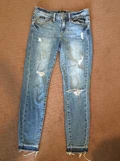 Bardot skinny jeans ankle grazer size 8 6