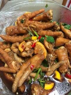 米椒香醋泡雞爪