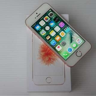 [USED] IPhone SE 64GB Rose Gold, ORIGINAL APPLE, Like NEW