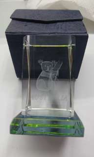 袋鼠水晶座