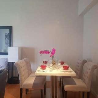 2BR Condominium for Rent in The Beaufort - Taguig