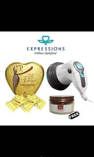 🚚 Expression Body Slim And anti cellulite Set