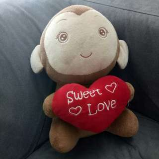 Boneka monkey sweet love