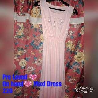 Light pink Maxi Dress
