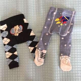 Legging Bayi 0-3 bulan 1 set