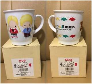 Sanrio Patty & Jimmy 1998 年 陶瓷杯 (Made in Japan) (全新未用過) (** 只限北角地鐵站交收 **)