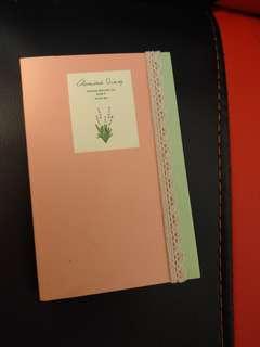 韓國設計 粉色Schedule Book 日程簿 記事簿