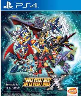 Ps 4 Super Robot Wars X R3