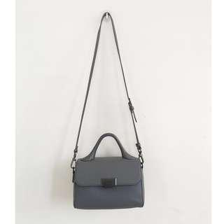 Authentic Charles & Keith Sling Bag (Grey)