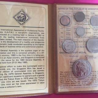 Uncirculated coin set - 1983
