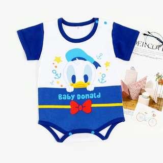 Baby Romper Donald Duck