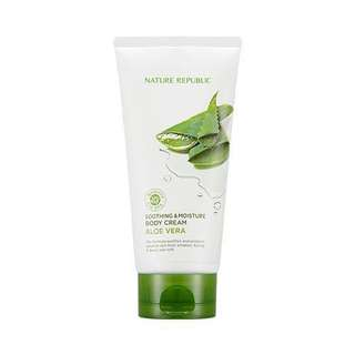 Nature Republic Soothing & Moisture Aloe Vera Body Cream