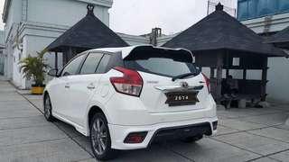 Toyota YARIS TRd Sportivo 1.5 at 2014 putih