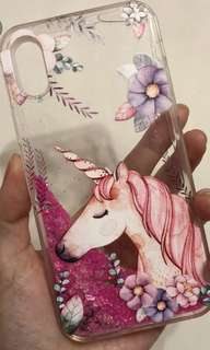 Iphone X case*new*unicorn