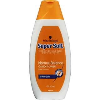 Schwarzkopf Super Soft Normal Balance Conditioner