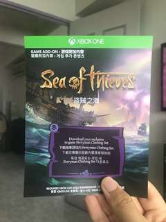 Sea of thieves add on (Xbox)