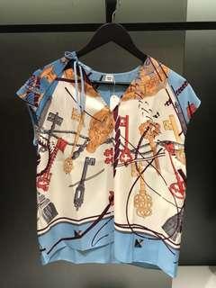 Hermes 2018 SS silk apparel (原價 15000)