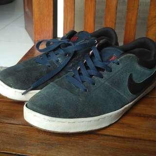 Nike rabona suede navy(REPRICE MURAH)