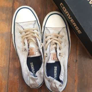 Authentic Off white Converse