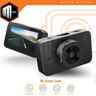 [INTERNATIONAL ENGLISH VERSION] Xiaomi Mijia 1080P 3.0 Inch TFT Screen Car Recorder Camera Dashcam 160 Degree Wide Angle Viewing, Support TF Card / G-Sensor / App Viewing(Black)