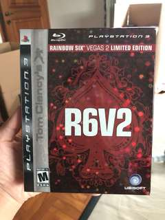 PS3 Tom Clancy's R6V2 Limited Edition