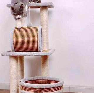 Bamboo Weave Cat Condo