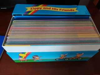 迪士尼美語disney world family english zippy and his friends talk along cards