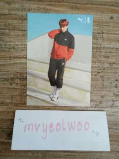 Jung Hoseok Puma Turin Photocard